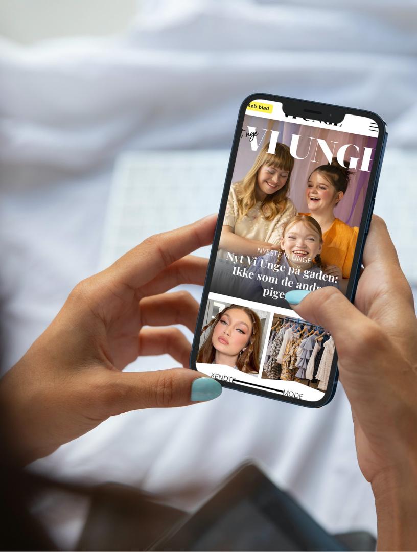 Velkommen til Vi Unges nye hjemmeside