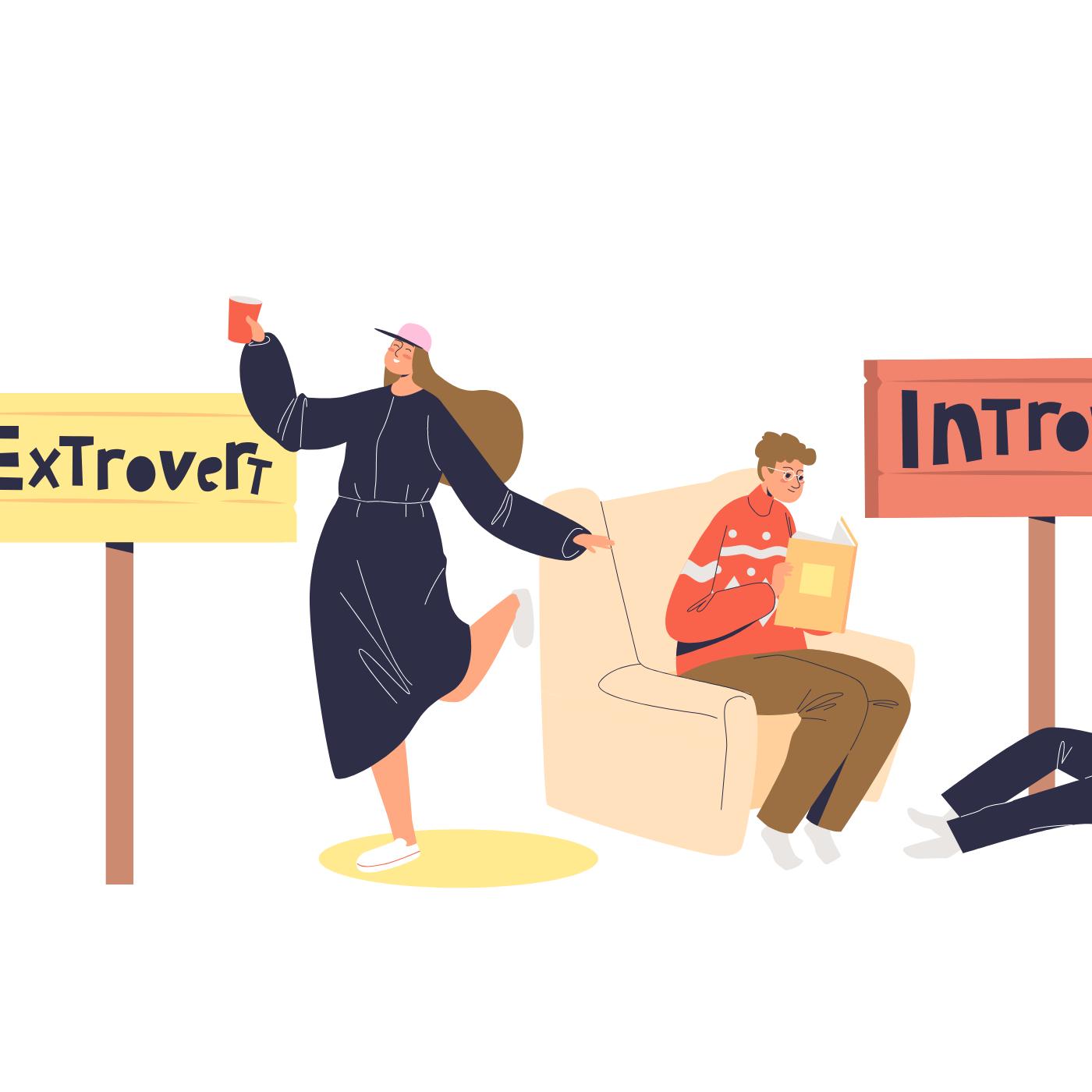 Introvert eller ekstrovert? tag testen her