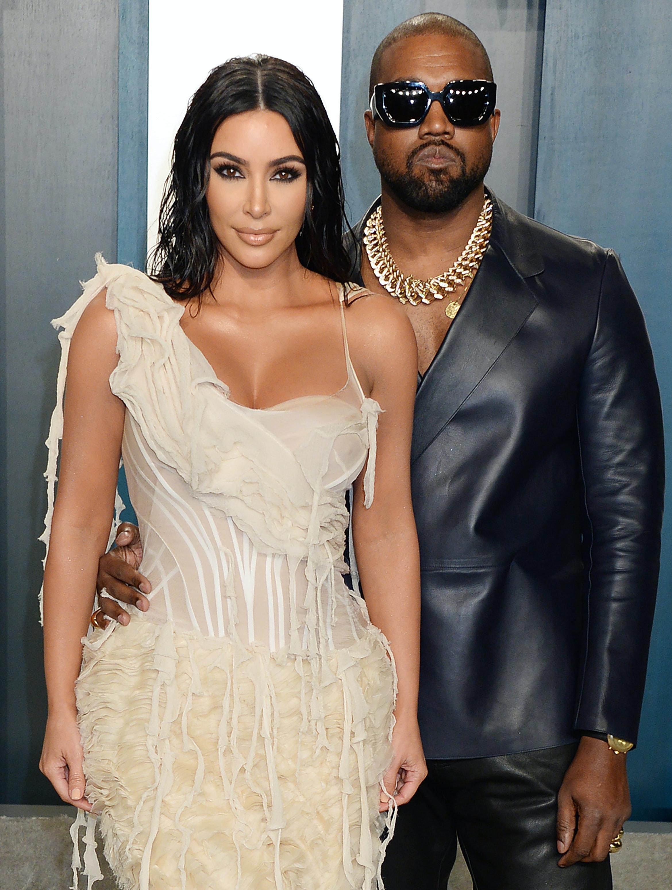Kanye West har været Kim Kardashian utro