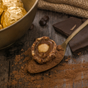 Nutella-kugler med hasselnødder a la Ferrero Rocher
