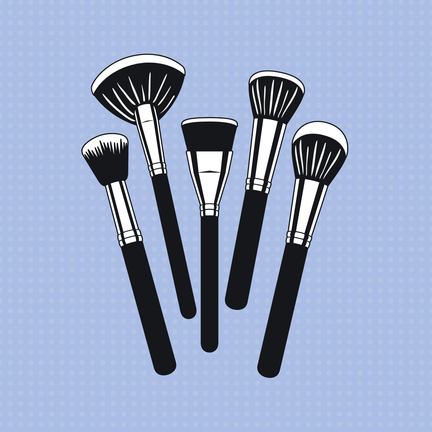 Så ofte skal du vaske dine make up-børster