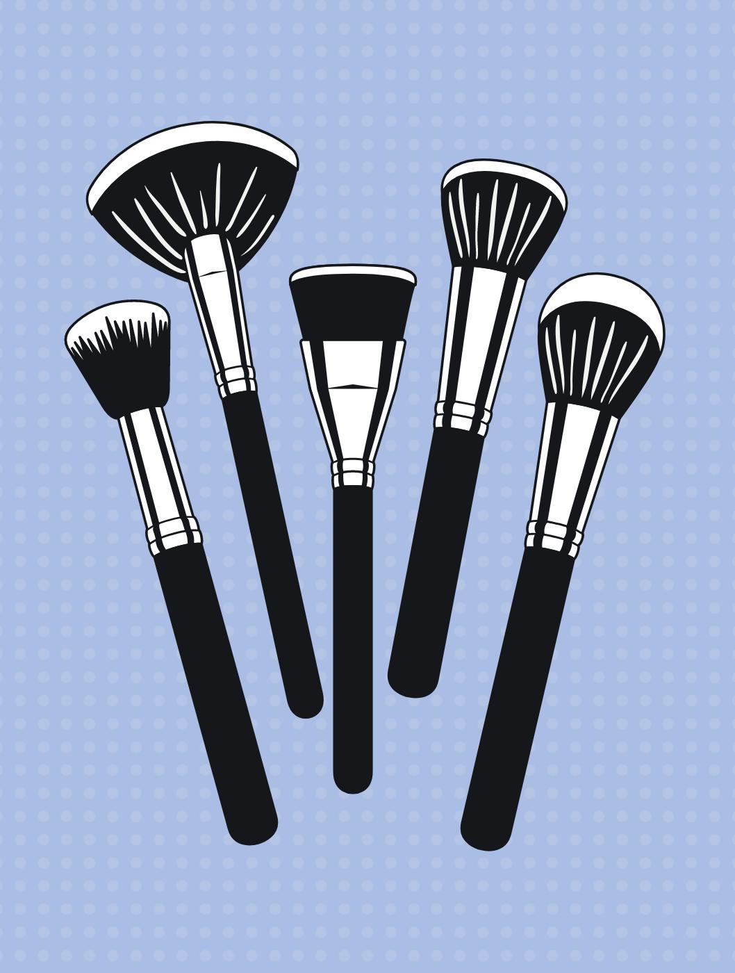 Så ofte skal dine makeupbørster rengøres