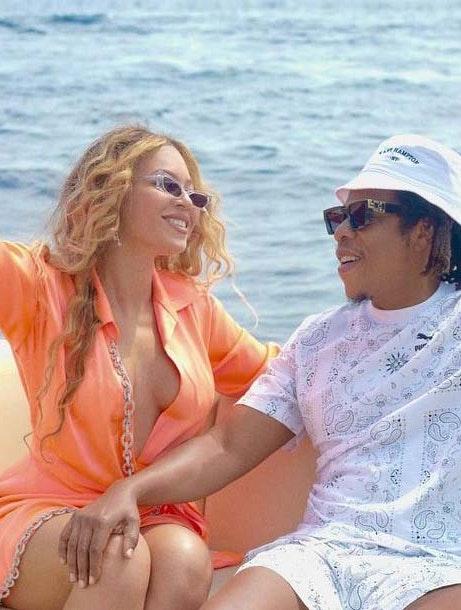 Beyoncé og Jay-Z på ferie