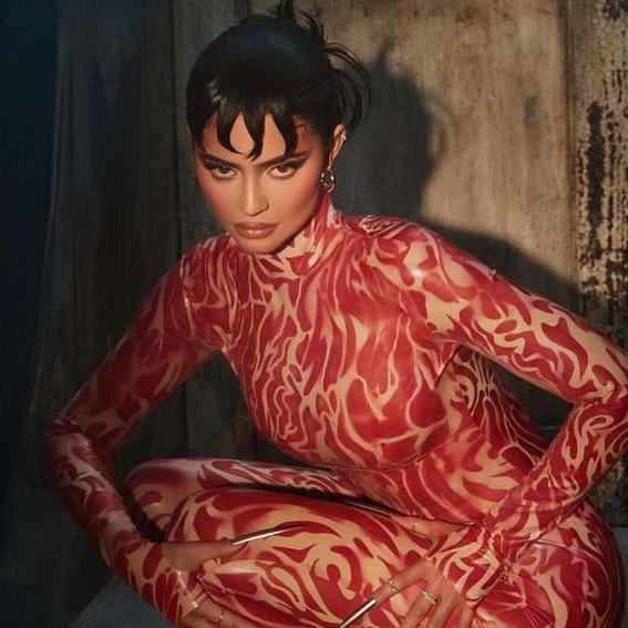 Kylie Jenner teaser for Halloween-kollektion
