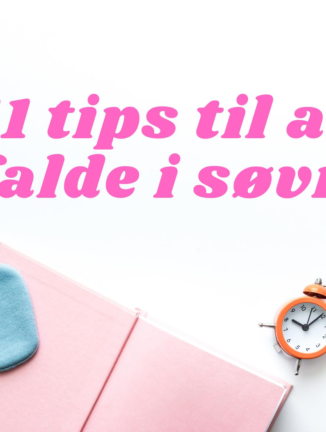 Der er ikke noget mere frustrerende end ikke at kunne falde i søvn. Nogle gange kan det være fordi man har tankemylder, og andre gange fordi man bare ikke er træt. Men der findes heldigvis nogle måder, man kan gøre det lidt lettere for sig selv. Vi Unge har samlet 12 tips til at falde i søvn.