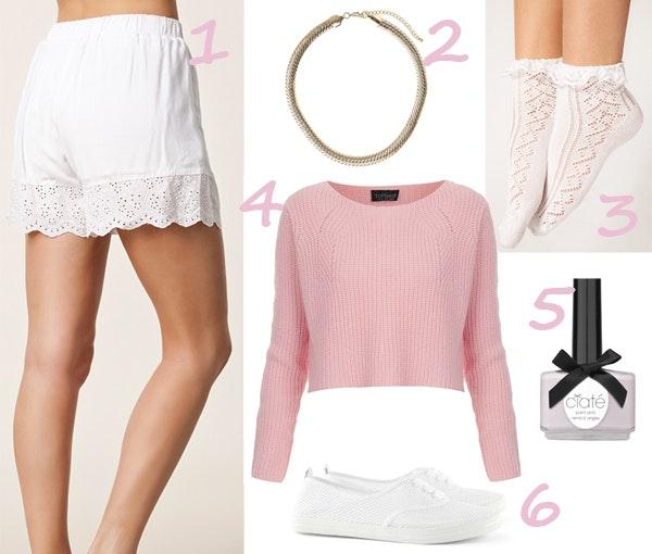 rita ora, forårsmode 2013, flæser, strømper, shorts, ciate