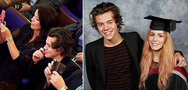 Harry Styles, søster, mor, one direction