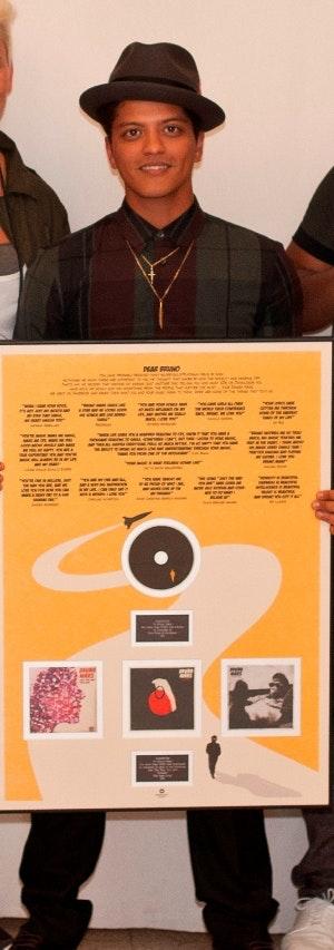 Bruno Mars, konkurrence, vindere, danskere, Platinplade