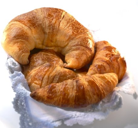 croissanter, opskrifter, bage, kager, lækkersulten, morgenmad