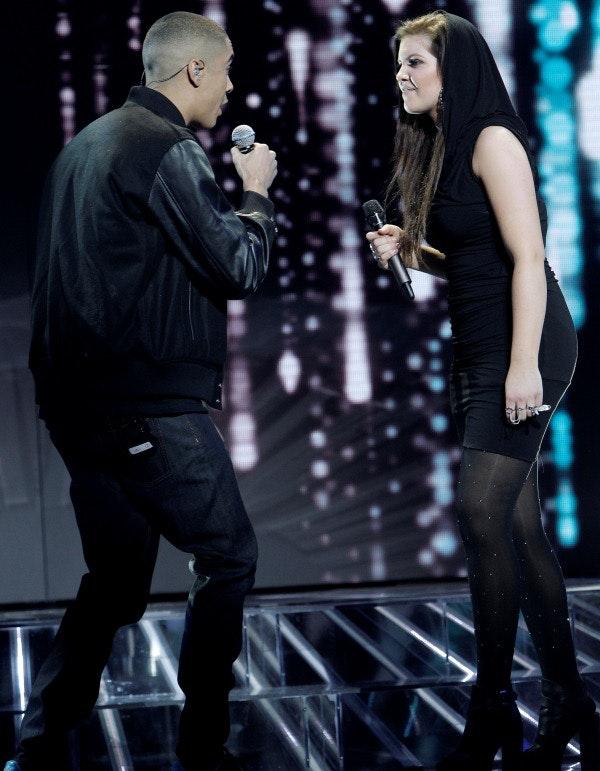 Line, X Factor, stil, mode, tips, tøj, show, liveshow