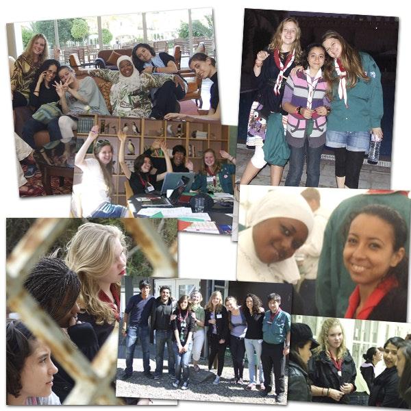 venner, udlandet, sprog, demokrati, unge, teenagere, Tunesien, spejdere, læsernes blog