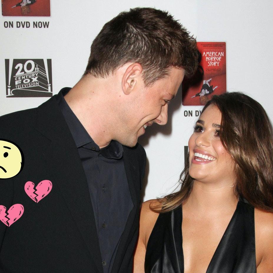 Cory Monteith og Lea Michele