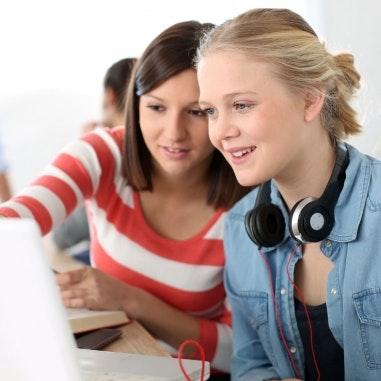 Veninder kan være hjælp til eksamen.