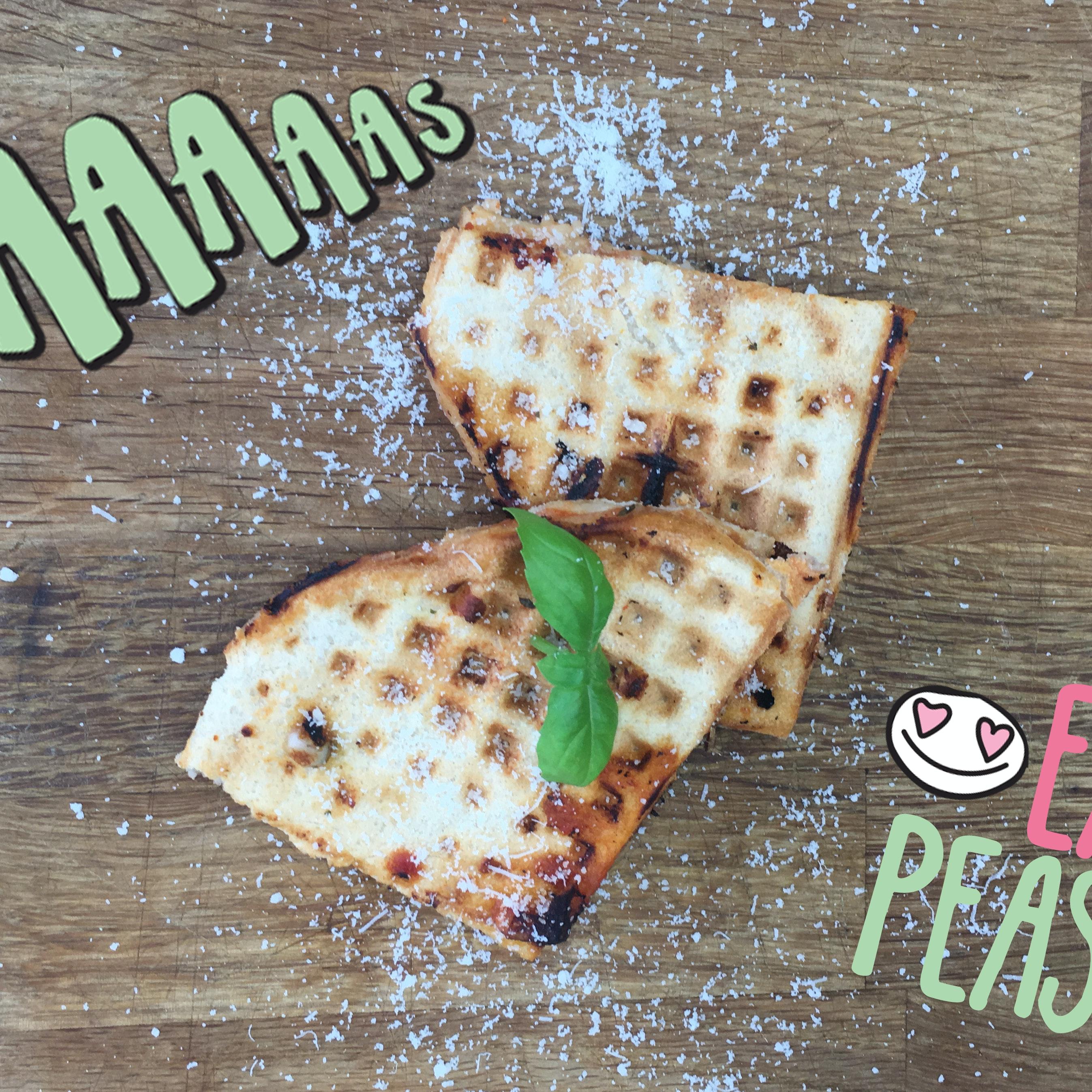 Opskrift: Pizza-vafler