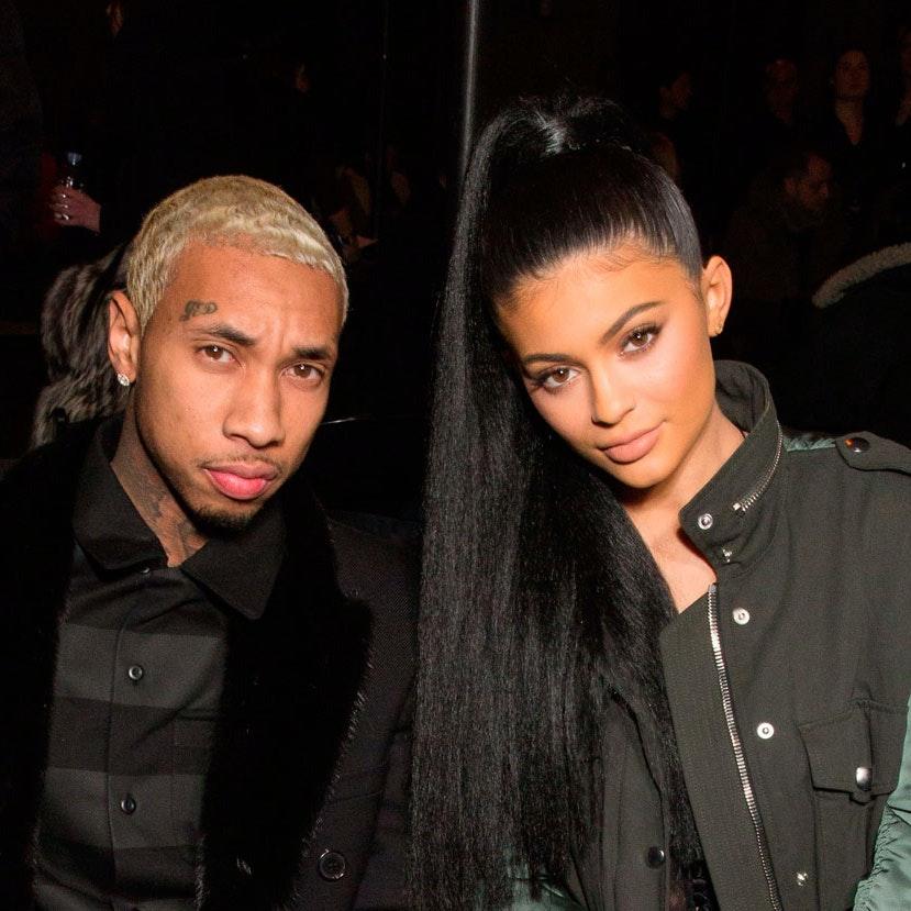 Tyga og Kylie Jenner til New York Fashion Week