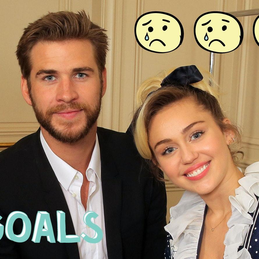 Miley Cyrus og Liam Hemsworth