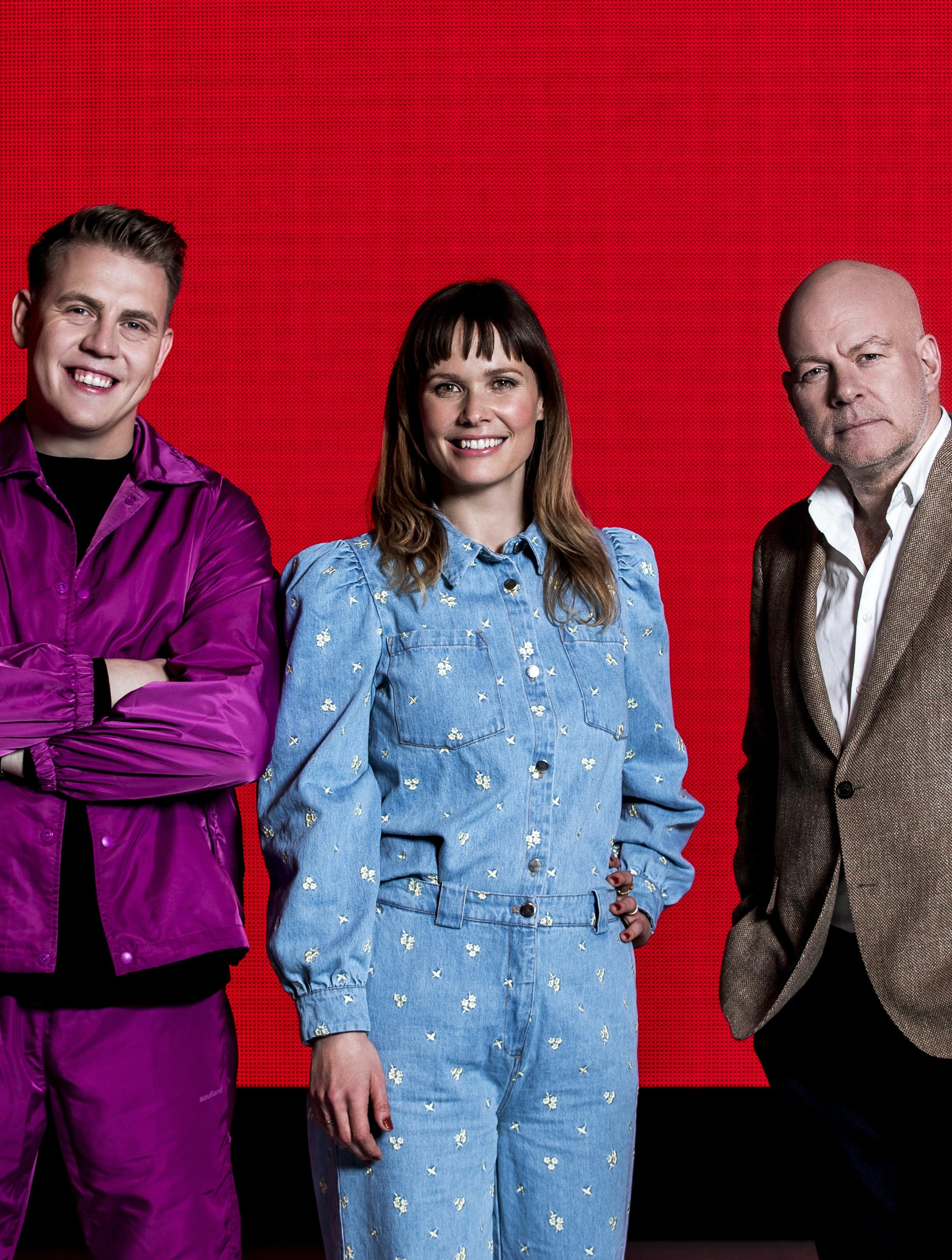 """'X Factor'-dommerne """"Det glæder vi os mest til"""""""